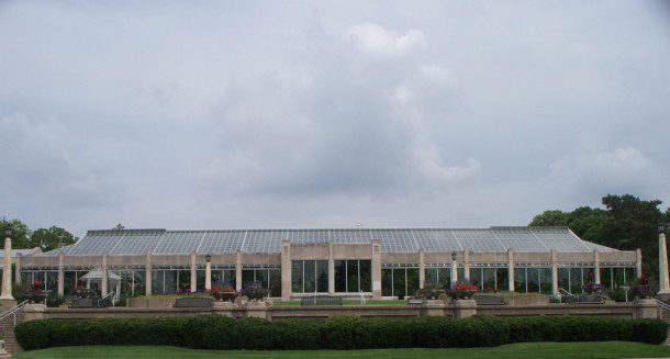 The present Conservatory was built in 1954 (photo by Sharon Butsch Freeland)