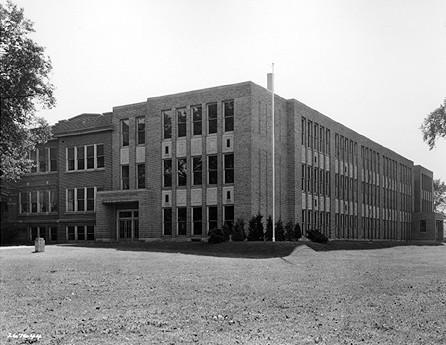 Broad Ripple High School, 1936. HISTORICAL SOCIETYYYYY.
