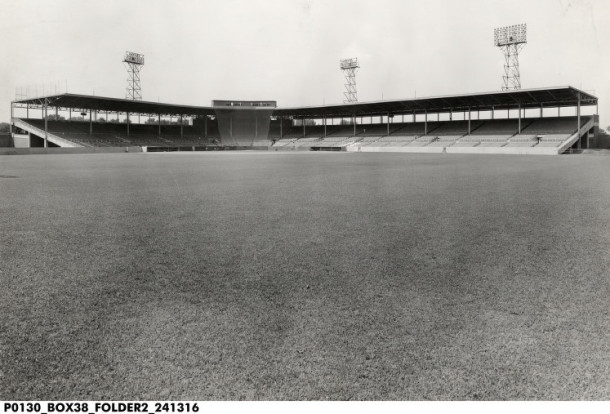 Bush Stadium, c. 1960. INDIANA HISTORICAL SOCIETYYYY.