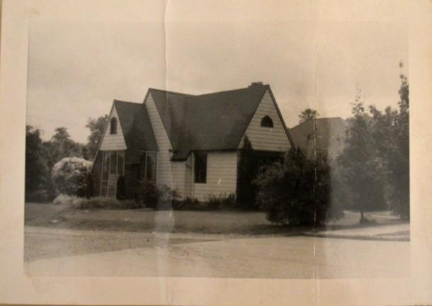 6045 Primrose Ave. circa 1945.