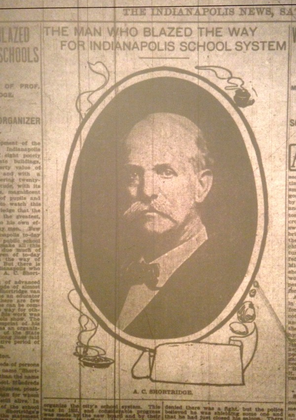 A lengthy biography of Shortridge appeared in the Indianapolis News on Dec. 5, 1903.