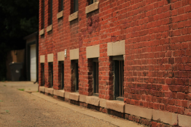 Alley facade, Rafert Flats, 2013, (c) photo by Kurt Lee Nettleton