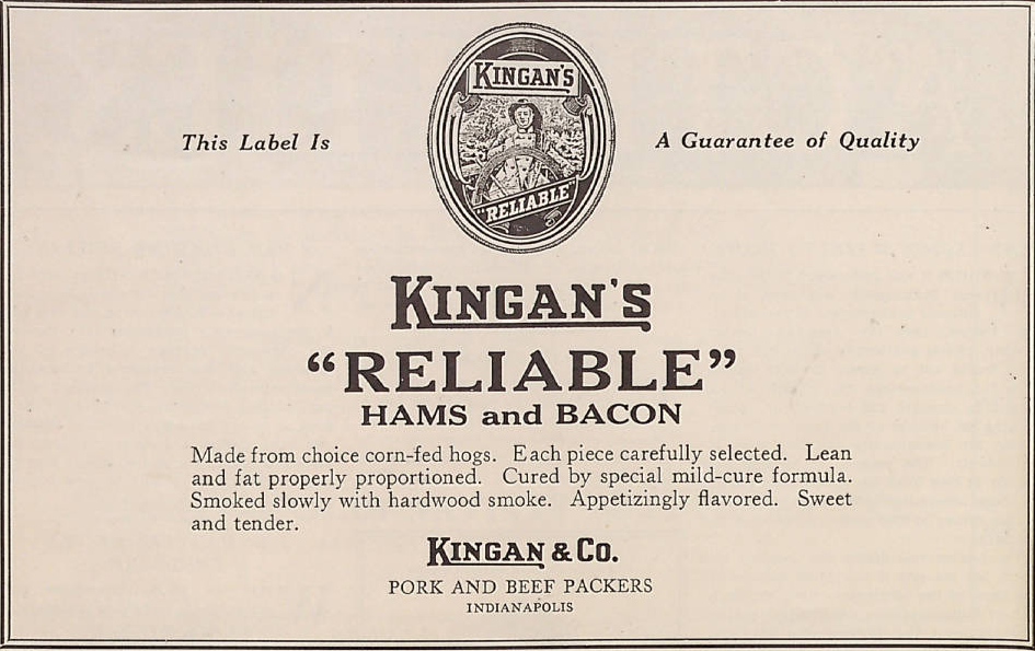 Sunday Adverts: Kingan & Co.