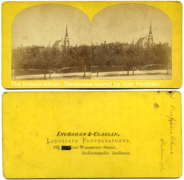 New York E. 2nd Pres Stereoview combined