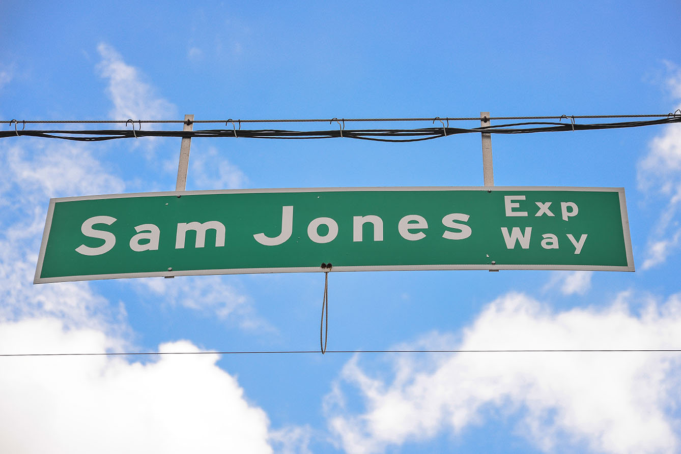 What's In a Name: Sam Jones Expressway