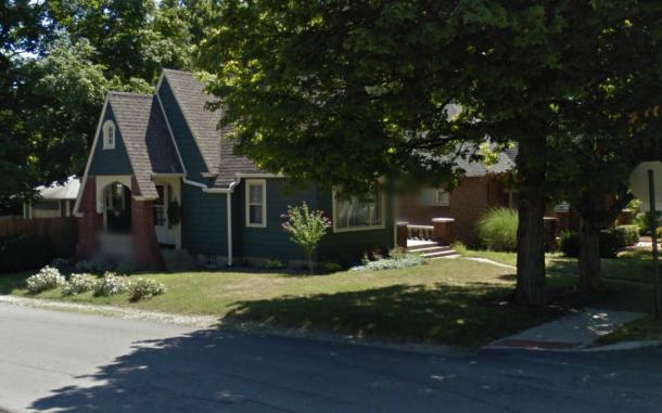 6045 Primrose today. 2013 Google Street View.