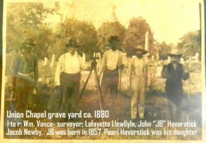 1880 - Men with names that still resonate in the area. Photo provided by the Marion County History Facebook group. Click to enlarge.