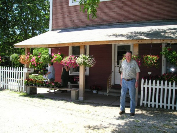 As recently as five years ago, the store was a lovely lawn and garden store.