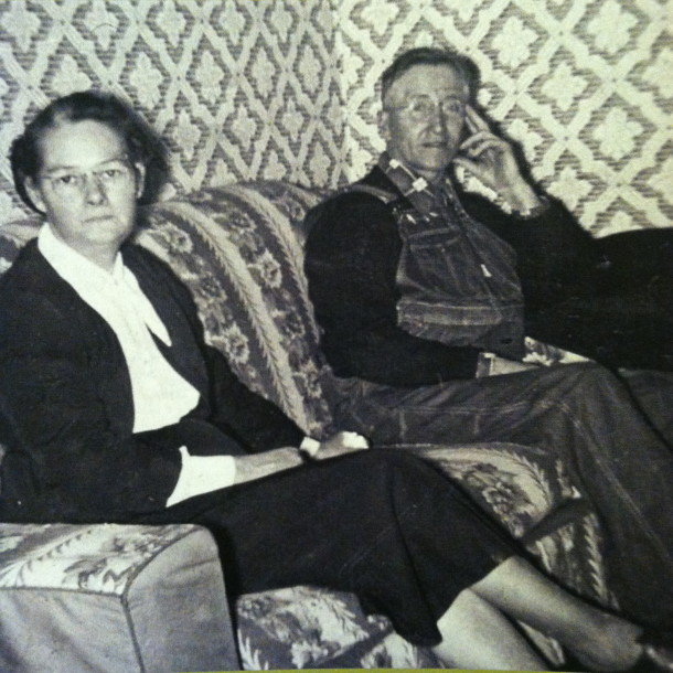 Ruth's parents. Courtesy of Ruth Shaw.