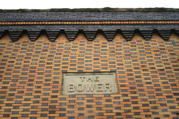 Bower, facade, 2013, (c) photo by Kurt Lee Nettleton