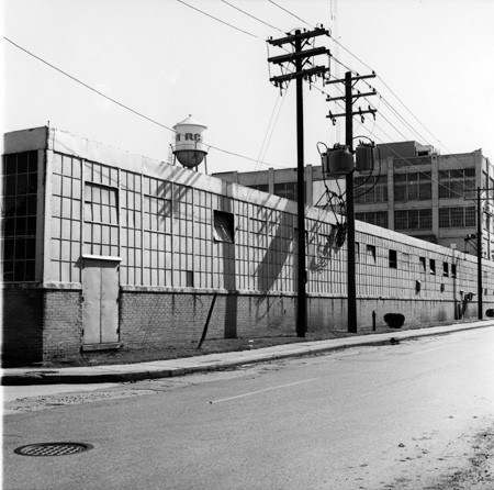 RCA, circa 1960, northwest of Sherman Drive and East Michigan St. Bass Photo Co Collection, Indiana Historical Society.