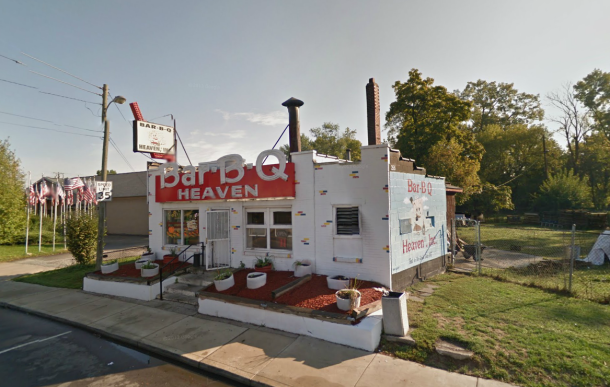 BBQ Heaven at 2515 Dr. Martin Luther King Jr St. - the only place from what Walter remembers that is still standing. Google Street View 2013.