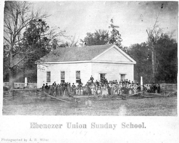 This church [1867] was the second one built since the congregation's founding in 1838.