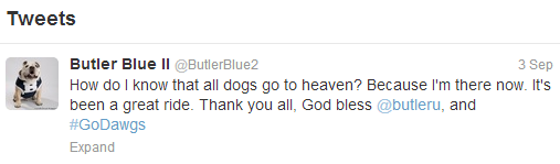 ButlerTweet