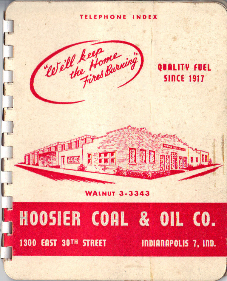 Sunday Adverts: Hoosier Coal & Oil Co.