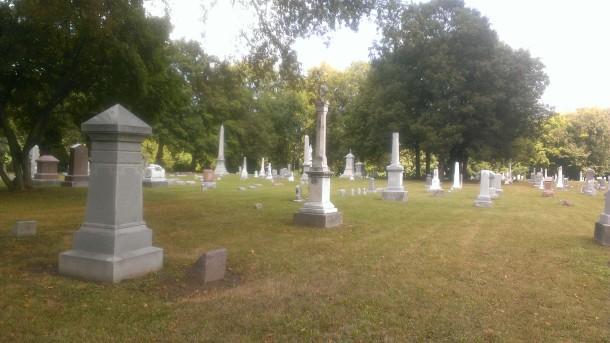 Tucked away and nicely groomed, a visitor to the Fall Creek Cemetery will find the graves of Indiana pioneers, and veterans from the Revolutionary War to WWII.