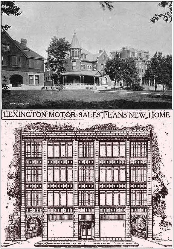 Lexington then now
