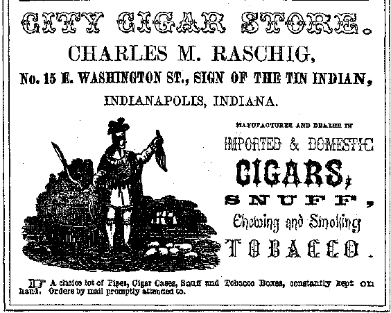 Sunday Adverts: City Cigar Store