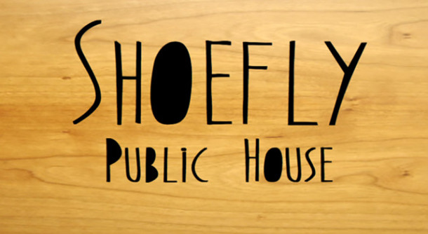 Shoefly logo courtesy of Shoefly Public House