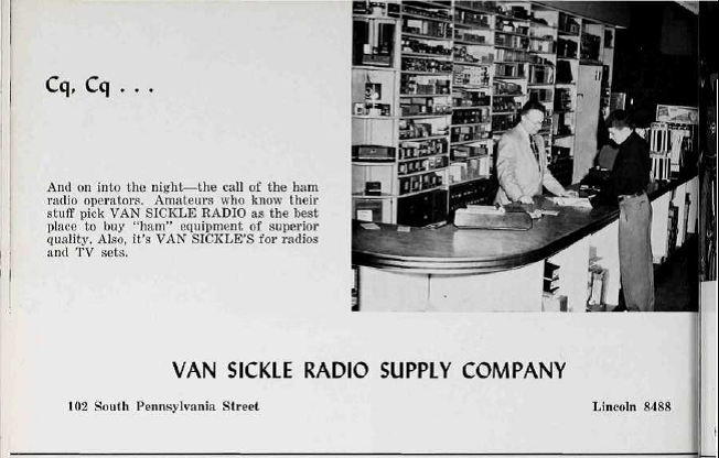 Sunday Adverts: Van Sickle Radio Supply Company