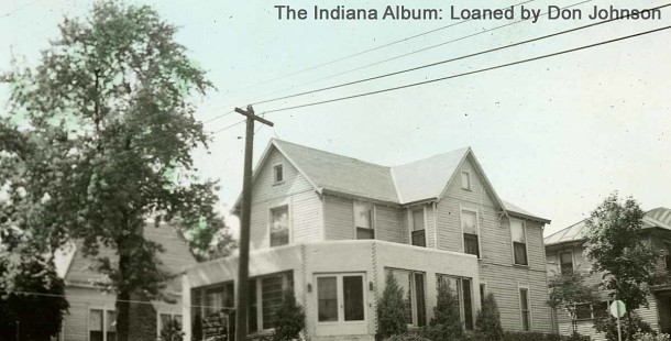Farley Funeral Home (The Indiana Album, Loaned by Don Johnson)