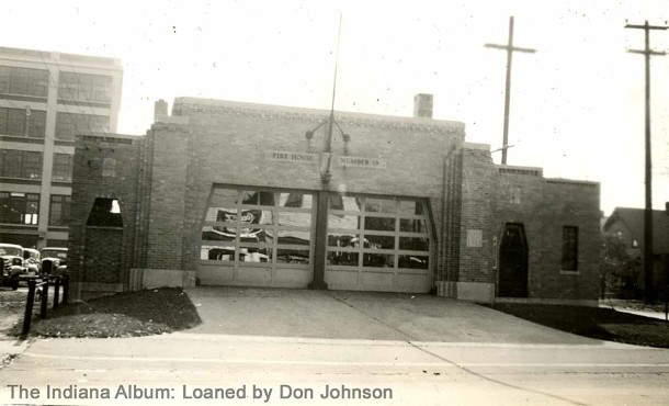 Indianapolis Fire Station #19 (The Indiana Album: Loaned by Don Johnson)