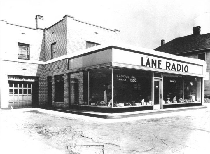 Indianapolis Then and Now: Lane Radio and Pogue's Run Grocer, 2828 E. 10th Street