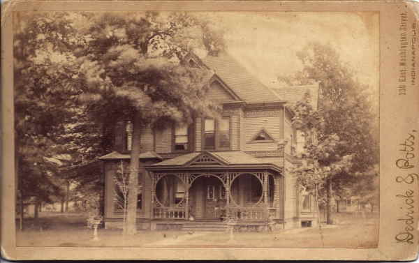 The Joseph F. Payne residence (Courtesy of Hank Armstrong)