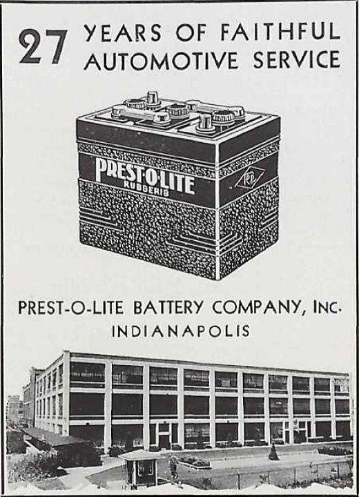 Sunday Adverts: Prest-o-lite