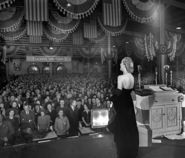 Carole Lombard, Cadle Tabernacle