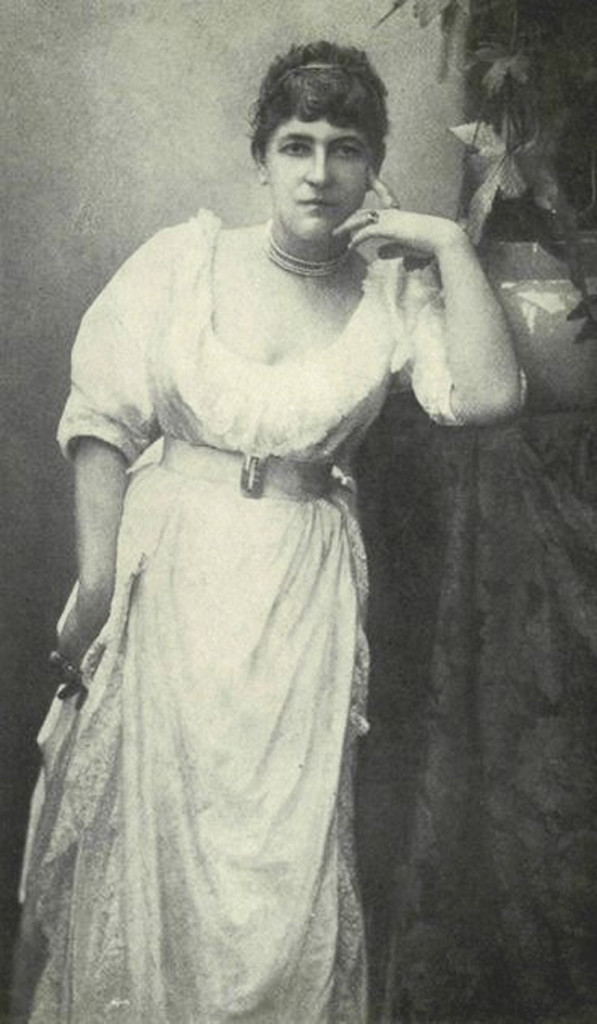 Fanny Vandegrift Stevenson during her visit to Scotland and England (The Life of Mrs. Robert Louis Stevenson by Nellie Vandegrift Sanchez)