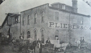 The Indianapolis Brewing Company circa 1871 (original home of the Lieber Brewing Company)