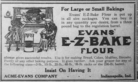 Sunday Adverts: Acme-Evans Company