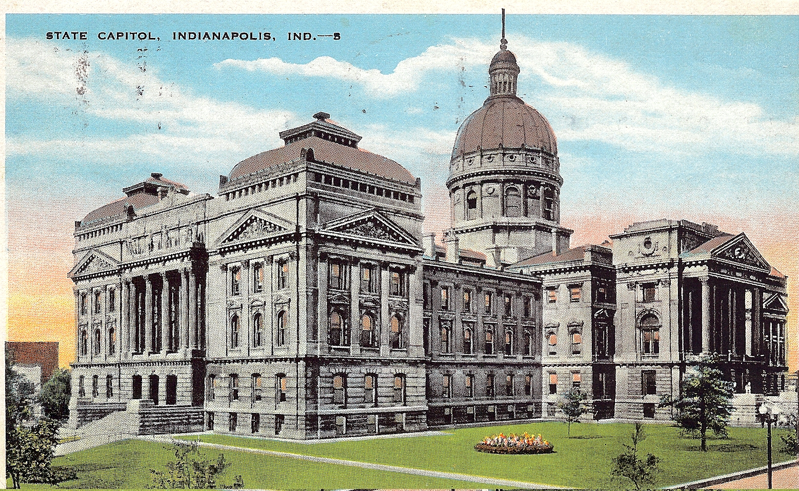 Penny Post: Indianapolis, Quite a Town