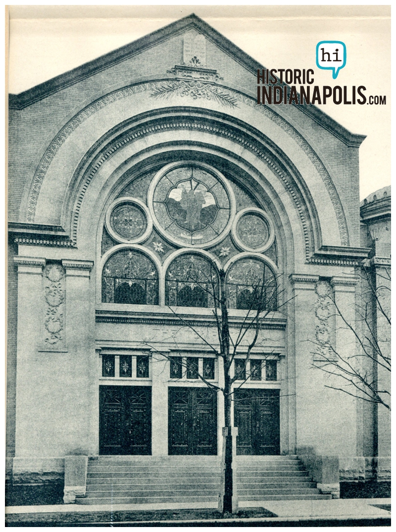 Indianapolis Then & Now: 10th & Delaware