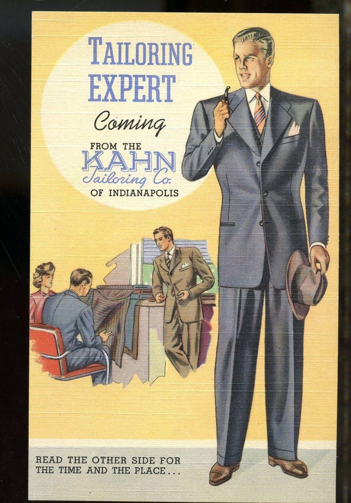 Sunday Adverts: Kahn Tailoring