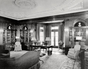 Oldfields library addition. The Lilly House museum has been restored to its 1930s splendor with approximately 90% of the Lilly furnishings. Image credit: IMA