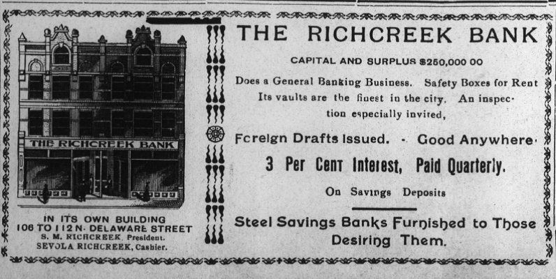 Sunday Adverts: Richcreek Bank