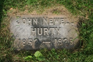 Dr. Hurty is interred at Crown Hill Cemetery. Photo: Find A Grave.