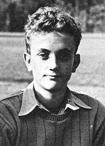 Kurt Vonnegut when a student at Cornell University in Ithaca, New York (1941 Cornellian)