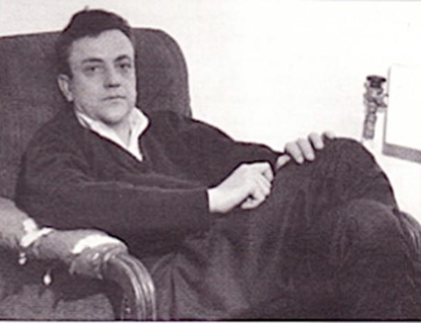 Kurt Vonnegut at the Writers' Workshop at the University of Iowa (photo by Loree Rackstraw, courtesy of The Brooklyn Rail)