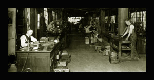 Leedy Machine Shop 1925