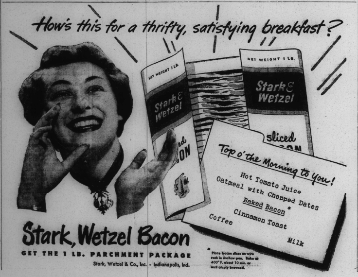 Sunday Adverts: Stark, Wetzel, & Co.