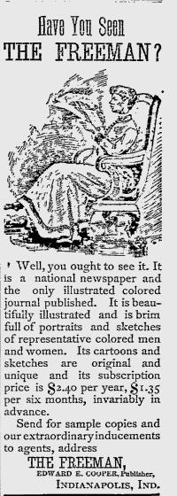 Sunday Adverts: The Freeman Newspaper