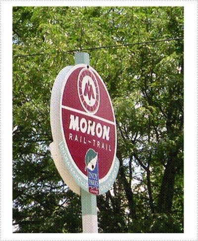 Welcome to the Monon Trail, Indianapolis's most popular park.