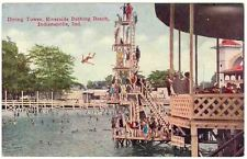 The diving tower at Riverside Amusement Park
