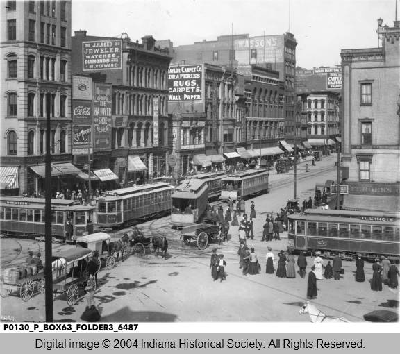 Corner_of_Illinois_and_Washington_Streets_Showing_the_North_Side_of_Washington_Street_Indianapolis_1906