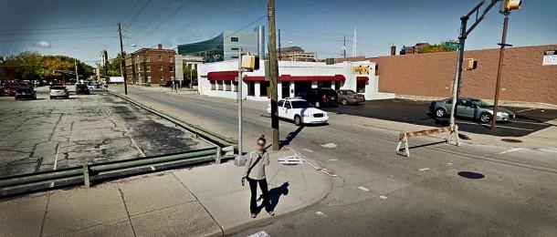 800 N. Delaware Street in 2011 (Google Street View)