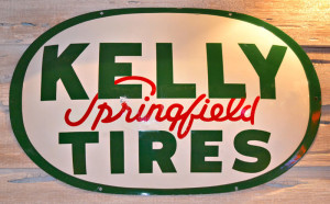 Kelly Springfield Tires logo (courtesy of artfactory.com)