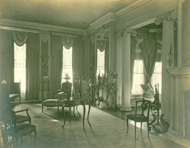 Barley Bright Gold Parlor (photo courtesy of Patrician Jameson Acheson Cochran)